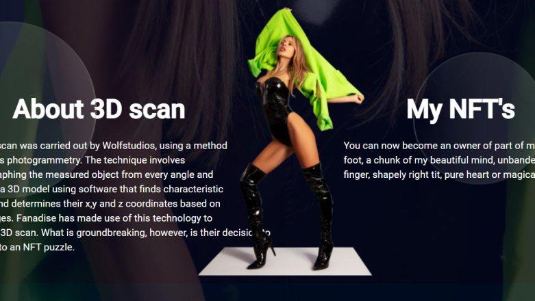 Doda sprzedaje fragmenty swojego ciała w sieci. W formie NFT